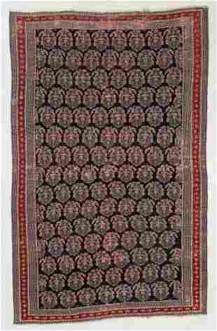 West Persian Boteh Rug, Circa 1880, 3'10'' x 6'2''