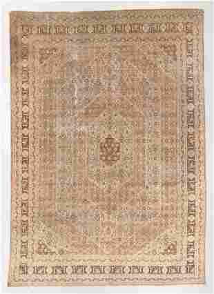 Tabriz Rug, Persia, Circa 1900, 9'1'' x 12'7''