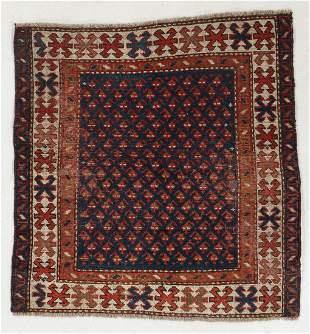 Kazak Rug, Caucasus, Circa 1900, 3'3'' x 3'5''