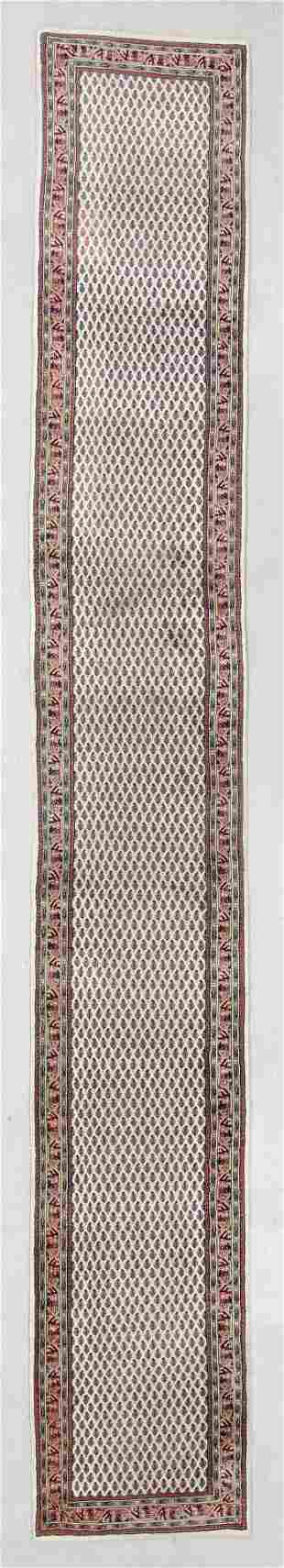 Serabend Rug, India, Mid/Late 20th C., 2'9'' x 19'7''