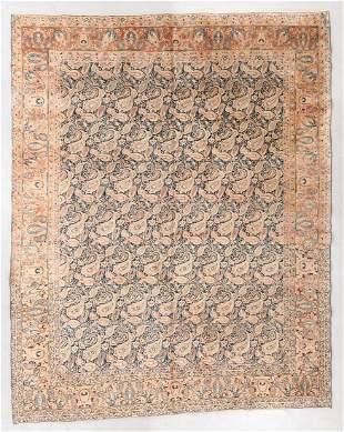 Tabriz Rug, Persia, Mid 20th C., 9'8'' x 11'11''