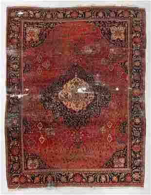 Sarouk Ferahan Rug, Persia, Late 19th C., 10'0'' x
