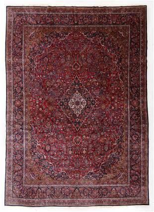 Kashan Rug, Persia, Mid 20th C., 9'9'' x 13'10''