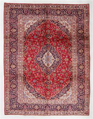 Kashan Rug, Persia, Mid/Late 20th C., 8'3'' x 10'10''