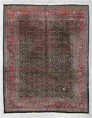 Indo Tabriz Rug, Mid/Late 20th C., 9'10'' x 12'9''