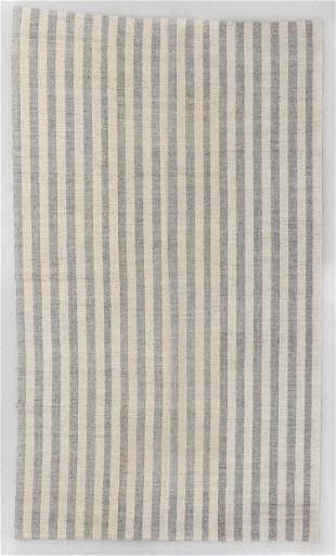 Striped Anatolian Kilim, Turkey, Mid 20th C., 6'3'' x
