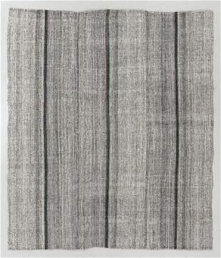 Anatolian Striped Kilim, Turkey, Mid 20th C., 7'0'' x