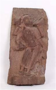 Ancient Indian Relief Sculpture of Hanuman, 10th C. CE