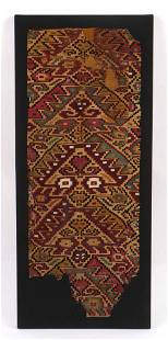 Pre-Columbian Chimu/Chancay Tapestry Textile, Peru