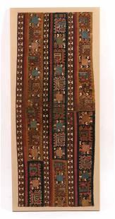Pre-Columbian Central Mountains Textile, Peru, c.