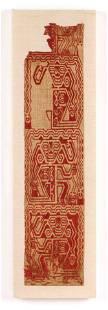 Pre-Columbian Paracas Textile, South Coast Peru
