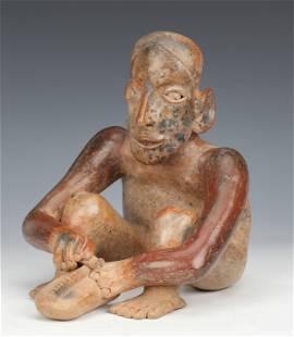 Fine Pre-Columbian Jalisco Shaft Tomb Idol, 200 BCE-200