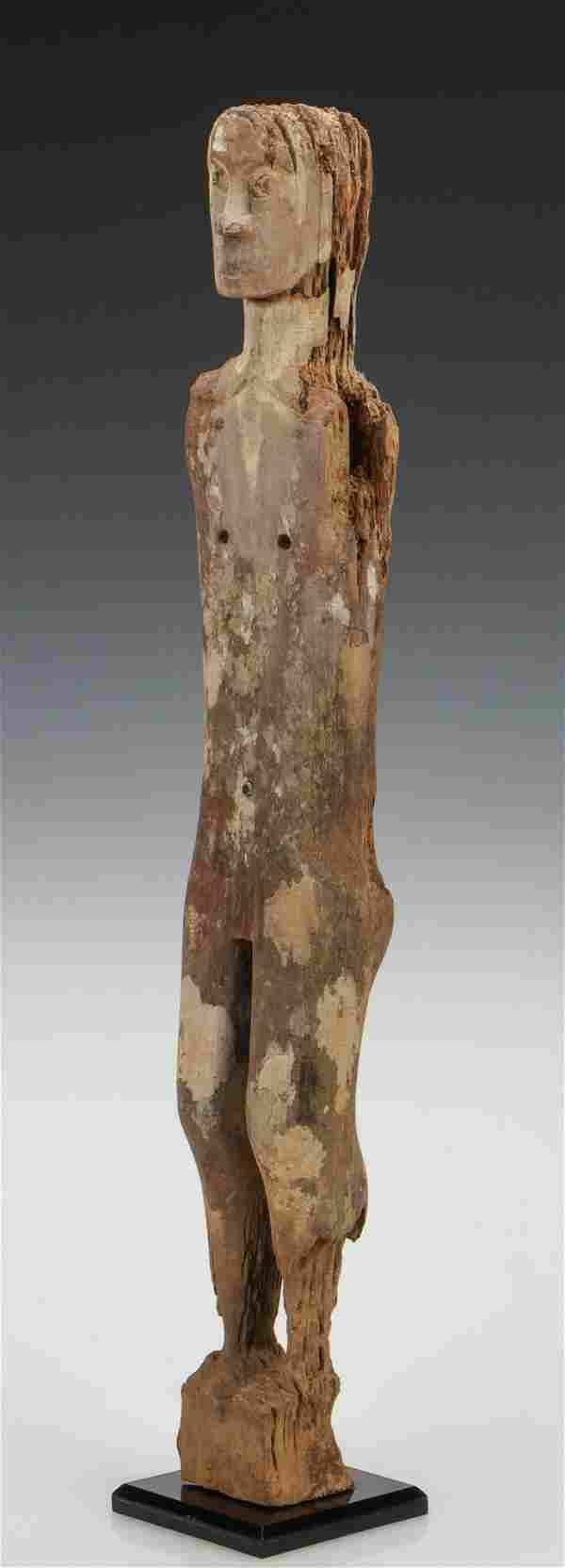 Antique Dayak Guardian Figure Hampatong, Borneo