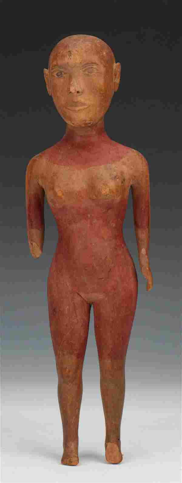 Northeastern Brazil Votive Sculpture, Early 20th C.