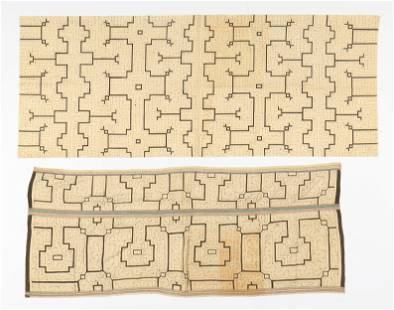 Two Shipibo Textiles, Peru