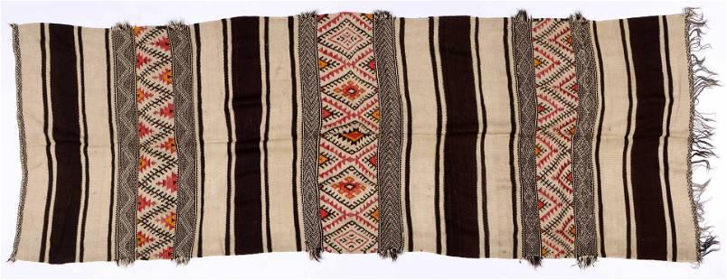 Zanafi Berber Blanket, High Atlas Mountains, 54'' x