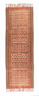 Antique Toraja Ikat Textile Pori Lonjong