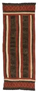 Rare Toraja Pio Puang Ceremonial Cloth, Sulawesi, Early