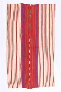 Vintage Guatemalan Solala Tzute Blanket