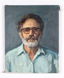"""Giovanni Martino (American, 1908-1997) Self-Portrait"""""""