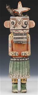 Native American Hopi Kachina Doll, Early-Mid 20th C.