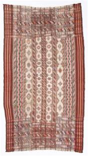 Antique Bhutanese Kira or Ladies' Wrap Textile