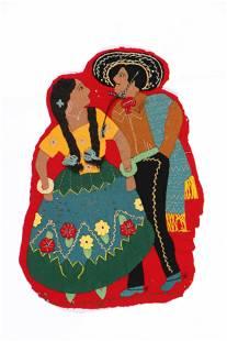 Antique Mexican Fiesta Jacket Couple