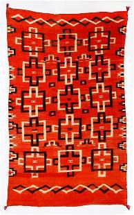 Navajo Transitional Blanket, Ca. 1880