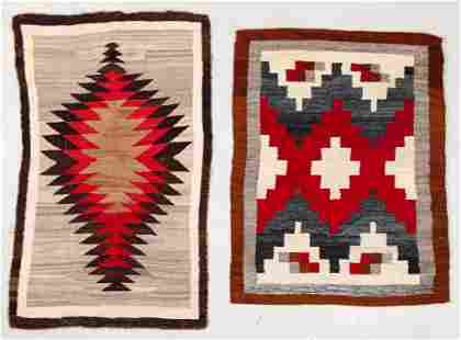 Two Antique Navajo Rugs