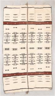 African Fulani Kilim, , Circa 1900, 4'4'' x 7'8''
