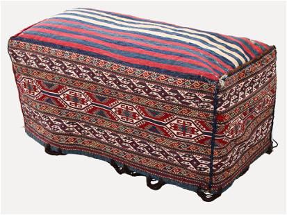 Fine Sumak Beshik, Caucasus, Late 19th C.