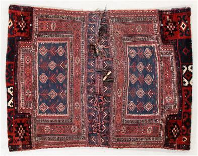 Bahktiari Double Joined Saddle Bags, Persia, Circa 1900