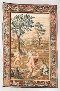 18th C. Franco Flemish Tapestry, 6'8'' x 10'6''