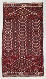 Veramin Kilim, Persia, Late 19th C., 6'0'' x 10'6''