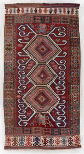 Central Anatolian Kilim, Turkey, Mid 19th C., 6'0'' x