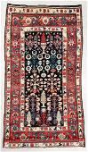 19th C. Kurdish Sauj Balagh Rug, Persia, 5'1'' x 9'5''