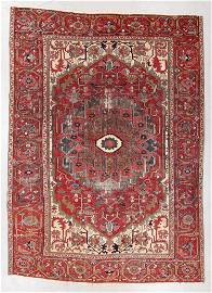 Serapi Rug, Persia, Late 19th C., 9'6'' x 13'0''