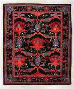 Vintage Kentwilly Arts & Crafts Rug, Turkey, 9'6'' x