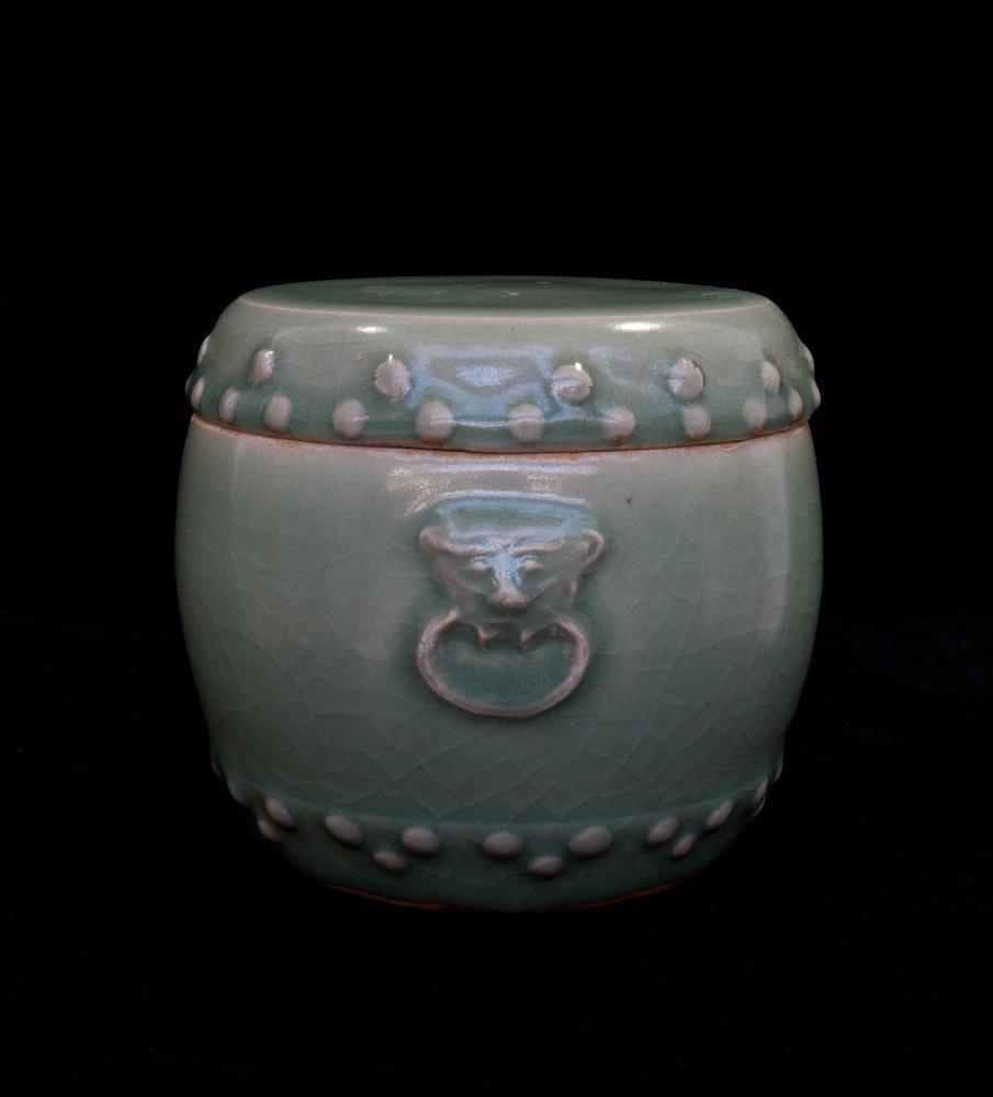 15: Antique Celadon Bowl and Cover