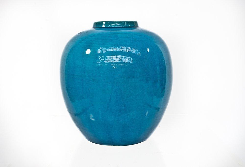22: Antique Porcelain Jar