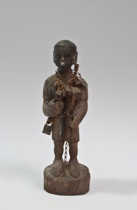 Carved Wood Fetish Statue