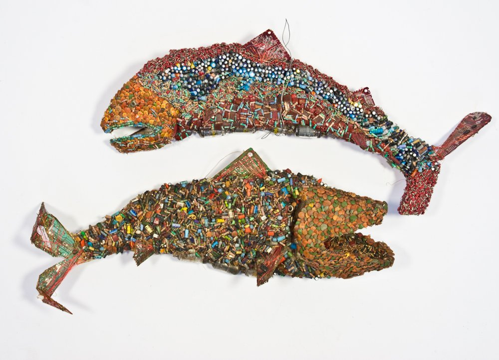 201: Pair of Leaping Fish