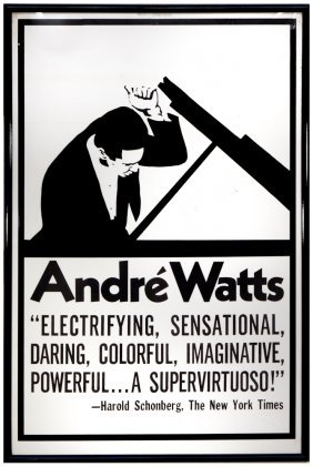 Andre Watts Poster