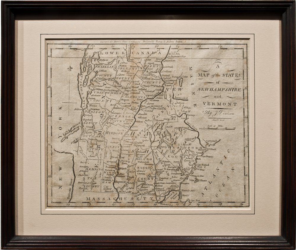 272: Map of Vermont and New Hampshire