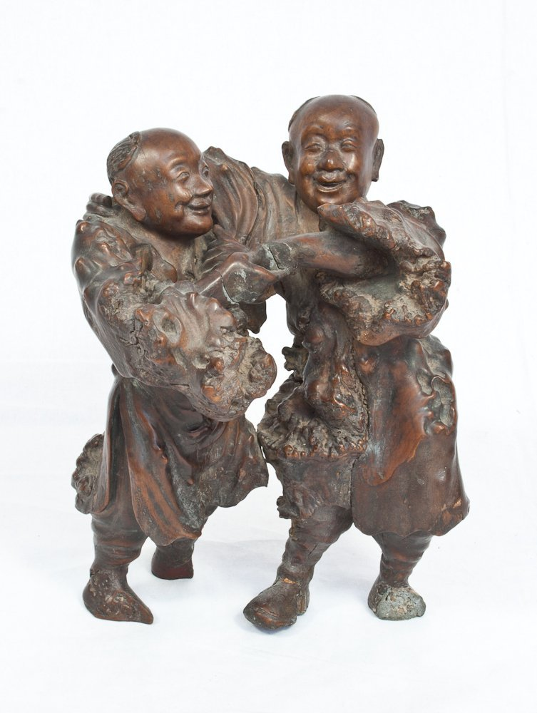 6: Carved Root Wood Sculptures