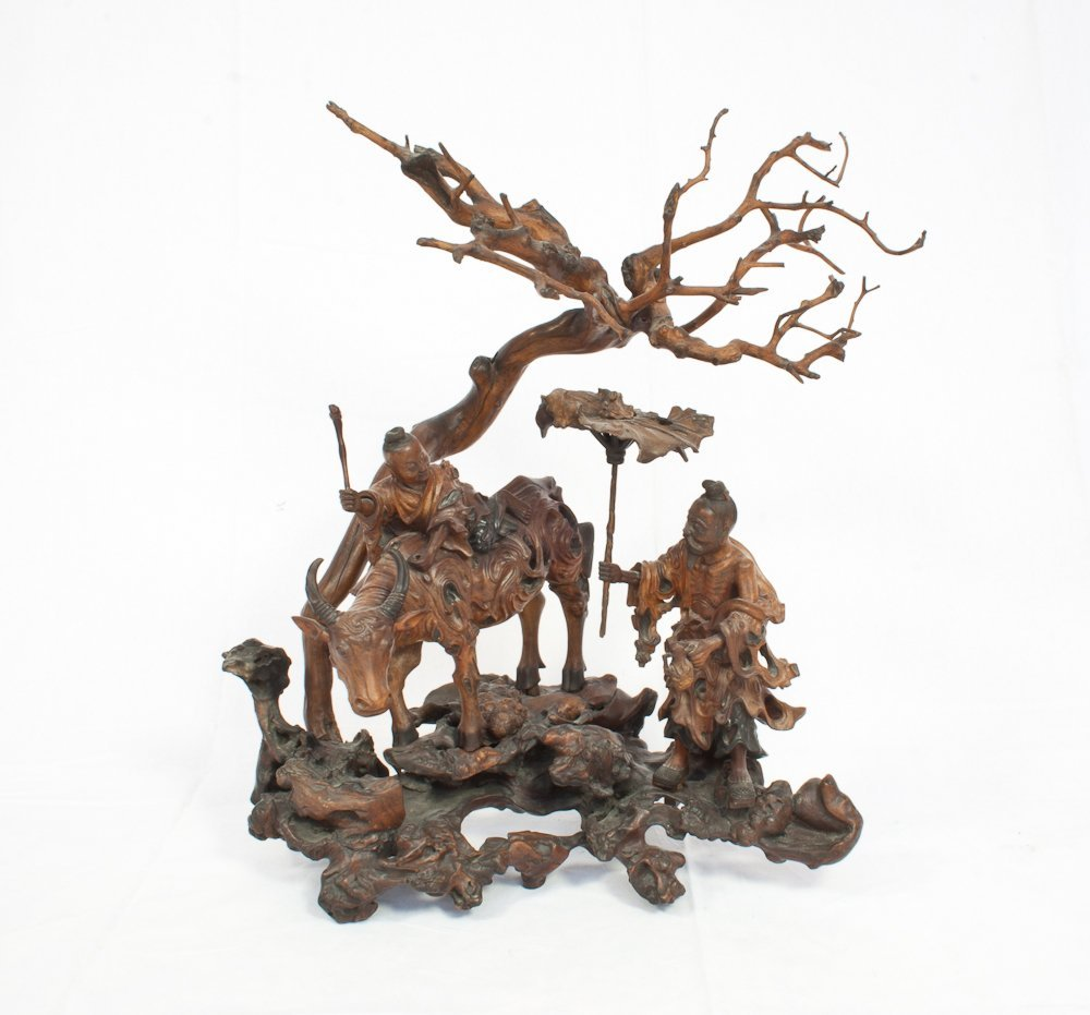 7: Carved Root Wood Assemblage