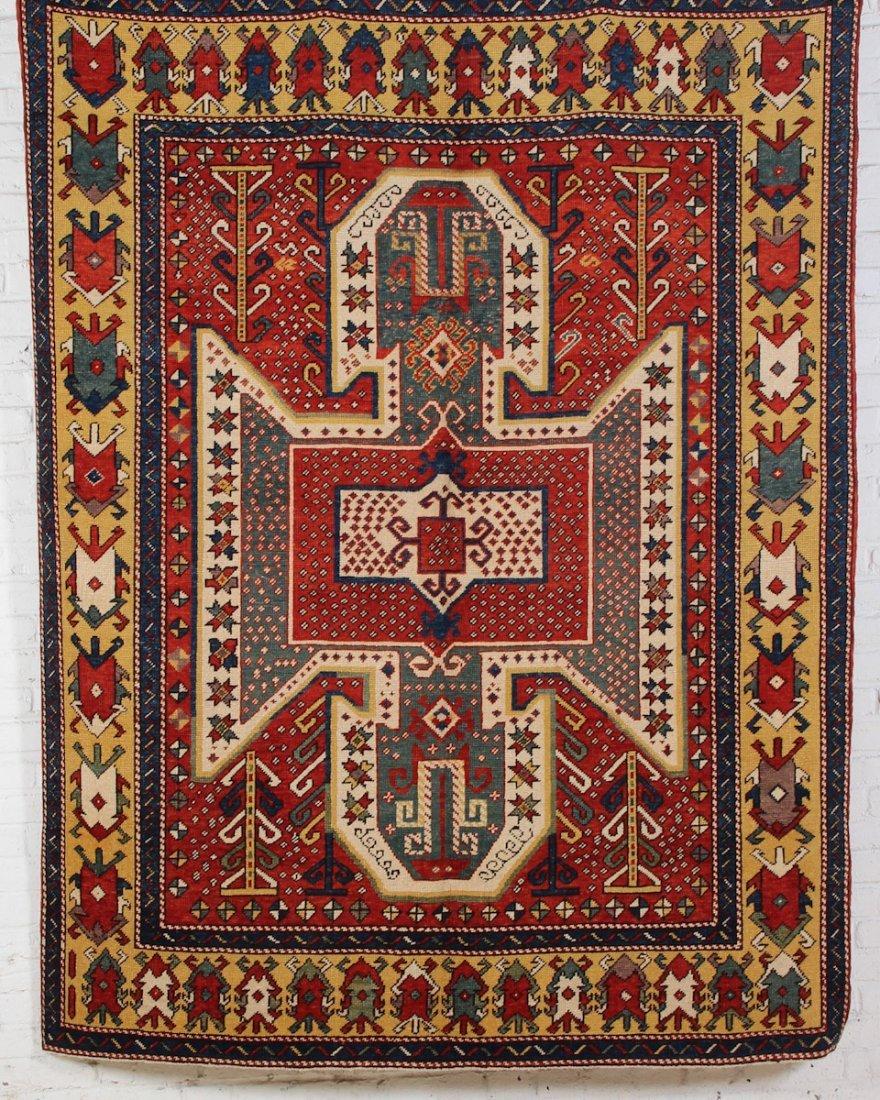 Classical Sewan Style Kazak Rug