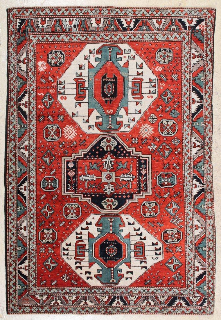 Kazak Style Village Rug
