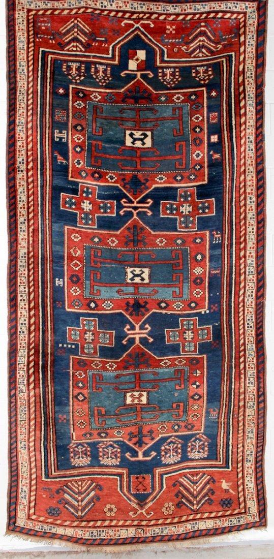 Large Fachralo Kazak Carpet