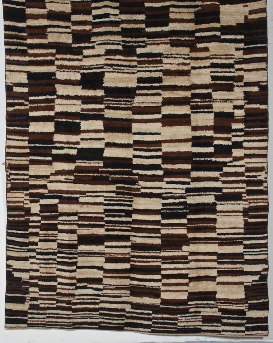 Modernist Turkish Tulu Carpet